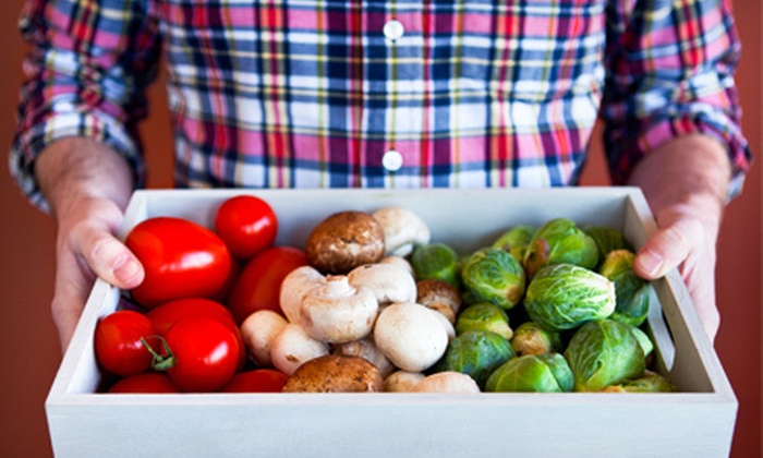 Delivery Produce Company - Chicago: $20 for a Half-Bushel of Produce from Delivery Produce Company ($40 Value)