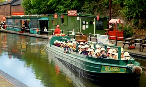 Dudley Canal Trust (Trips) Ltd: Historic Canal Tour with a Muffin and a Hot Drink with Dudley Canal Trust (Up to 33% Off)