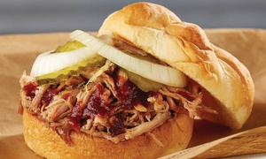 Dickey's Barbecue Pit: Two or Four Barbecue Sandwiches at Dickey's Barbecue Pit (Up toHalf Off)