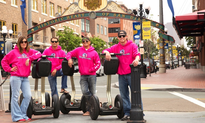 We Love Tourists - Multiple Locations: Two-Hour Segway Tour of La Jolla or Balboa Park from We Love Tourists (64% Off)