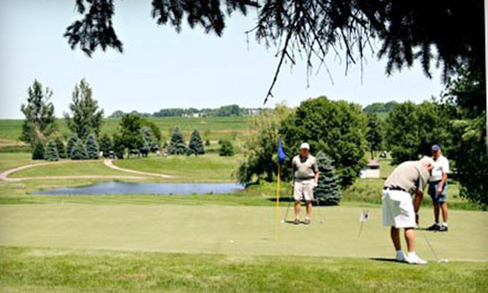 Rocky Run Golf Course - Dell Rapids: 18-Hole Round of Golf for Two or Four with Cart Rental and Pizza at Rocky Run Golf Course (Up to 56% Off)