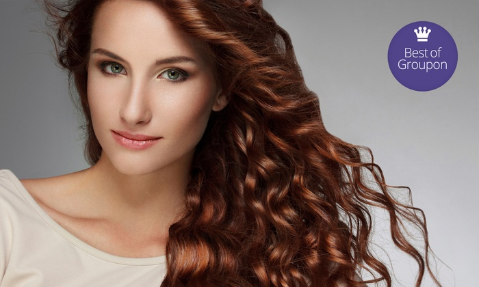 The Styling Hutch - Plano: Haircut, Moroccanoil Treatment, and Highlights at The Styling Hutch (Up to 59% Off)