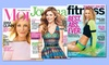 2-Year, 20-Issue Fitness, More, or Ladies' Home Journal Subscription: 2-Year, 20-Issue Subscription to Fitness, More, or Ladies' Home Journal Magazine from $7–$10