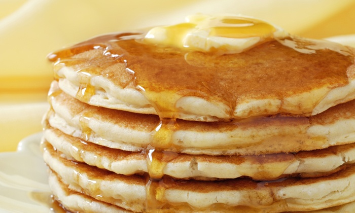 Flippin Eggs - DeKalb: Pancake or Omelet Breakfast for Two or Four at Flippin Eggs (Up to 53% Off)