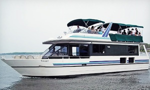 Wayzata Bay Charters: $32 for a 60-Minute Sweetheart Cruise on Lake Minnetonka for 2 from Wayzata Bay Charters ($66.90 Value)