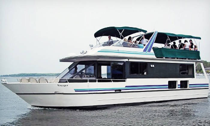 Wayzata Bay Charters - Excelsior: $35 for a 60-Minute Sweetheart Cruise on Lake Minnetonka for 2 from Wayzata Bay Charters ($66.90 Value)