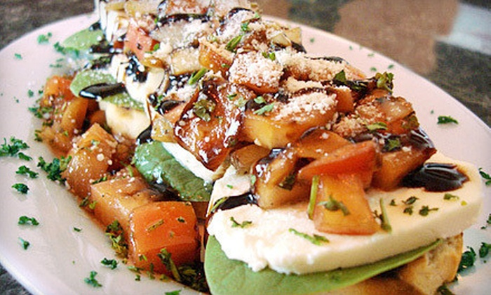 Nicolino's Trackside - McHenry: $20 for $40 Worth of Italian-Inspired Food and Drinks at Nicolino's Trackside