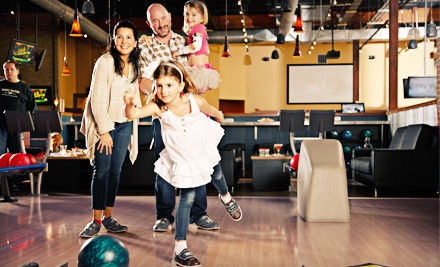$20 Worth of Bowling or Arcade Games Plus $12 Worth of Food for Two People  - Gametime in Lake Oswego