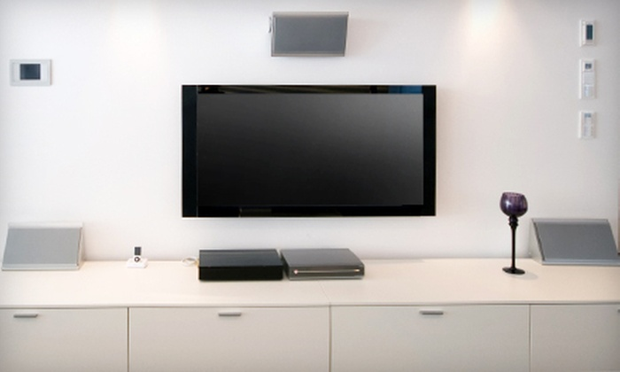 Digital Twins, LLC - Duffy: $79 for TV Installation and Mounting Including Tilt Mount and HDMI Cable from Digital Twins, LLC ($189 Value)