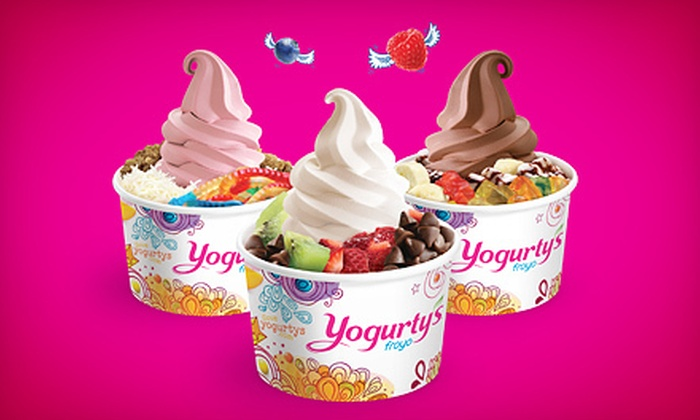 Yogurty's - Multiple Locations: $5 for $10 Worth of Frozen Yogurt at Yogurty's Froyo
