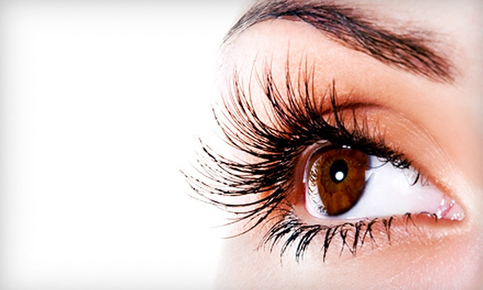 Pampered Lashes - Thedford: $99 for a Full Set of Lash Extensions and a Refill from Pampered Lashes ($200 Value)