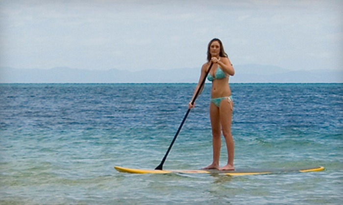 SUP Columbus - Westerville: Paddleboard Lesson for Two or Four or One-Hour Paddleboard Rental from SUP Columbus (Half Off)
