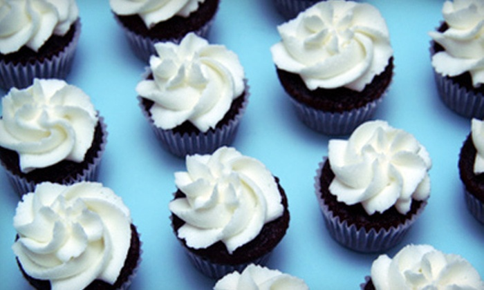 The Cupcake Factory - Big Rock: One or Two Dozen Cupcakes at The Cupcake Factory (52% Off)