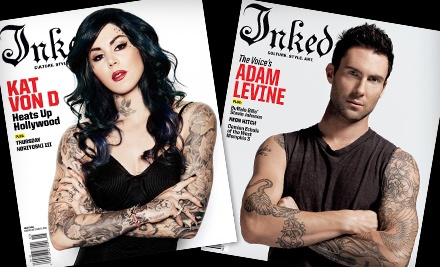 Tattoo Magazine Subscription Packages from