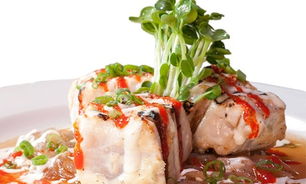 $109 for a Sushi-Making Lesson with Sake Tasting for Two at Tokyo Fro's Rockin' Sushi ($270 Value)