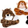 Kids' Animal-Shaped Plush Winter Hat