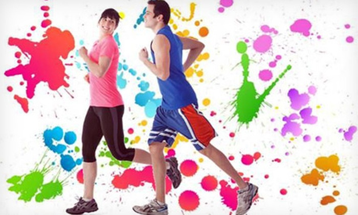 YMCA of Greater Long Beach - Lakewood Village: 5K or One-Mile Color for a Cause Run for Charity at YMCA of Greater Long Beach (Up to 50% Off)