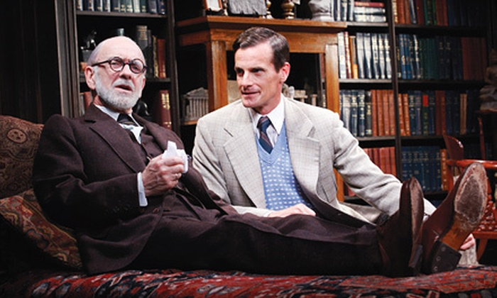 """""""Freud's Last Session"""" - Lakeview: $25 for One Ticket to See """"Freud's Last Session"""" at The Mercury Theater ($55 Value). 11 Performances Available."""