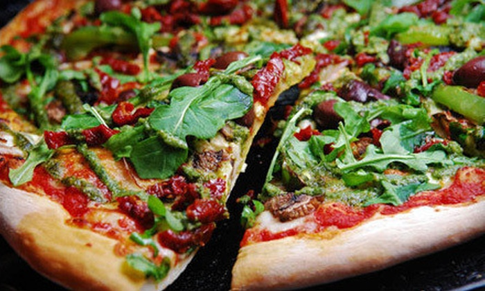 Lucifers Pizza - Multiple Locations: Pizza Meals at Lucifers Pizza (Up to 55% Off). Three Options Available.