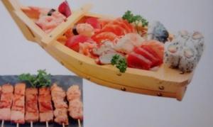 Le Samouraï: 30 assortiments de sushis, sashimis, makis et brochettes pour 2, 4 ou 6 personnes dès 24,90 € au restaurant Le Samourai
