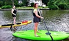 Baltimore Boating Center - Essex: Two-Hour Stand-Up Paddleboarding Rental for Two or Four by Middle River SUP (Up to 58% Off)
