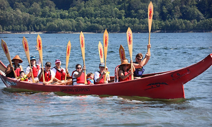 Takaya Tours - Belcarra Regional Park: Two-Hour Canoe Tour for Two or Four with Coast Salish Cultural Guide at Takaya Tours (Up to 55% Off)