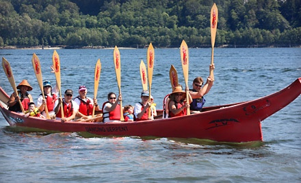 Two-Hour Traditional West Coast Canoe Tour for Two (a $120 value) - Takaya Tours in