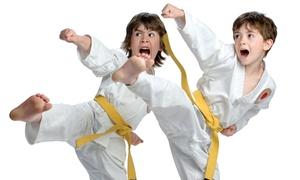 International Taekwondo College: 3-Week or 6-Week Introductory Tae Kwon Do Package at International Taekwondo College (83% Off)