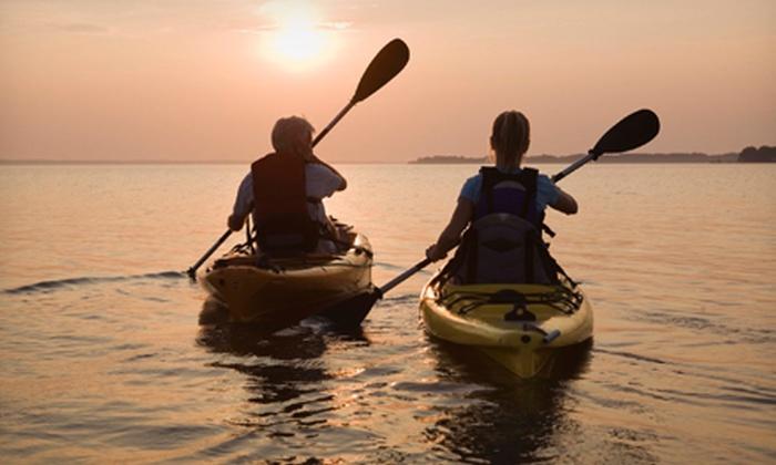 Grand Prairie Parks & Rec - Lynn Creek Park: Half- or Full-Day Kayak or Canoe Rental at Grand Prairie Parks & Rec (Up to 51% Off)