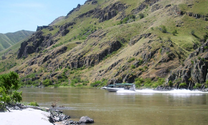 Beamers Hells Canyon Tours - Beamers Hells Canyon Tours: $109 for an All-Day Jet-Boat Tour with Lunch and Drinks from Beamers Hells Canyon Tours ($219 Value)