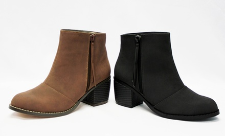 Abilene, TX: Michael Antonio Macyn or Missa Ankle Boots. Multiple Colors Available.