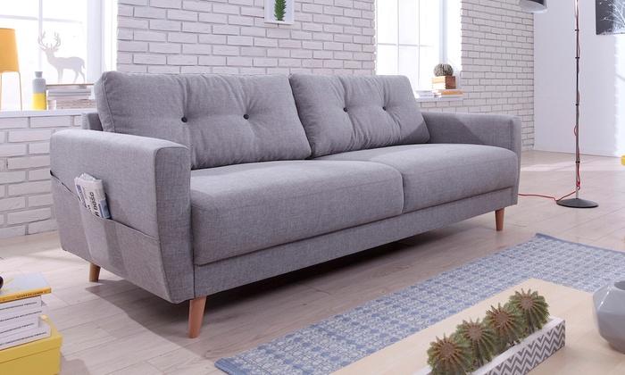 canap scandinave convertible ou non nordby bobochic groupon. Black Bedroom Furniture Sets. Home Design Ideas