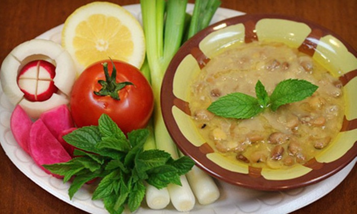 Sajouna Cafe - Dearborn Heights: $10 for $20 Worth of Mediterranean Cuisine at Sajouna Cafe in Dearborn Heights