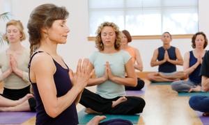 Heaven Meets Earth: 10 or 20 Yoga Classes at Heaven Meets Earth (74% Off)