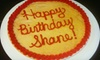The Cupcake Lounge - Moore: $12 for Custom 12-Inch Cookie Cake at The Cupcake Lounge ($25 Value)