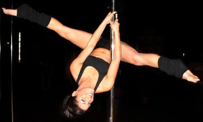 PoleFit Carolinas - Huntersville: 3 or 10 Pole-Dancing Classes at PoleFit Carolinas in Huntersville (Up to 67% Off)