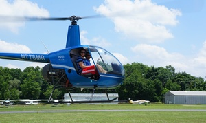 HeliFlights: Private Helicopter Flight Lesson for One or Two from HeliFlights (Up to 47% Off)