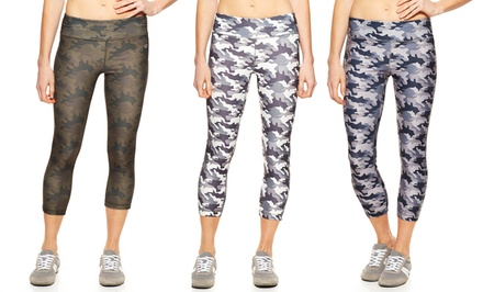 Vogo Camo Print Capris | Brought to You by ideel