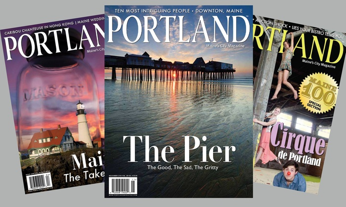 """Portland Magazine: One- or Two-Year Subscription to """"Portland Magazine"""" (Up to 56% Off)"""