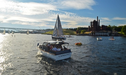 $189 for Two-Hour Private Cruise on Lake Union for Up to Six from Candere Cruising ($300 Value)