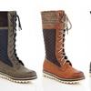 Eddie Marc Women's Lace-Up Combat Winter Boots