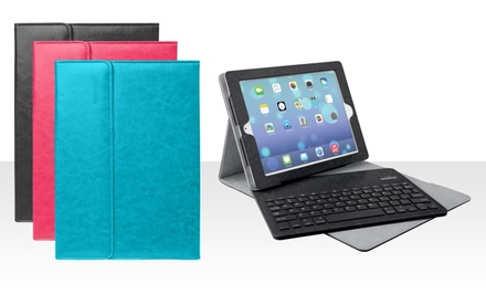 Merkury Luxe Bluetooth Keyboard Case for iPad 2, 3, and 4, or iPad Air