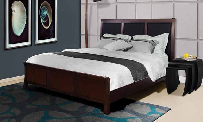 Wood And Leather Bed Bindu Bhatia Astrology
