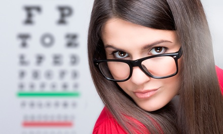 Eye Exam and $225 Glasses Credit or Two Boxes of Contact Lenses at Cohen's Fashion Optical (Up to 83% Off)