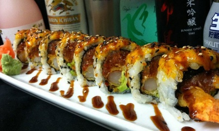 Sushi, Asian-Inspired Cuisine, and Drinks for Lunch or Dinner at BluFin Sushi (Up to 75% Off)