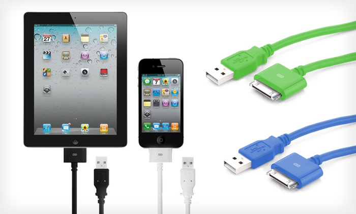Nuinno 10-Foot Apple USB Charging Cable: $9.99 for a Nuinno USB Charging Cable for iPhone, iPod, and iPad ($29.95 List Price). 4 Colors Available.