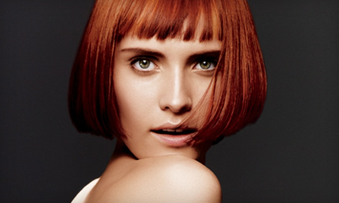 Bella Dolche Aveda Salon and Spa - Everett: Haircut Package with Optional Color or Partial or Full Highlights at Bella Dolche Aveda Salon and Spa (Up to 66% Off)