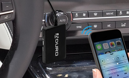 Aduro Bluetooth Wireless Audio Receiver for 3.5mm Media Devices