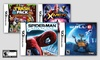 Kids' 4-Game Nintendo DS Bundle: Kids' 4-Game Nintendo DS Bundle with X-Men, Spider-Man, Wall-E, and The Trash Pack. Free Returns.