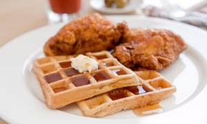 Southern Breakfast or Lunch at J's Chicken and Waffles (43% Off)